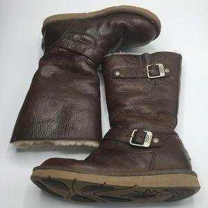 Ugg Kensington Leather & Sheepskin Boots